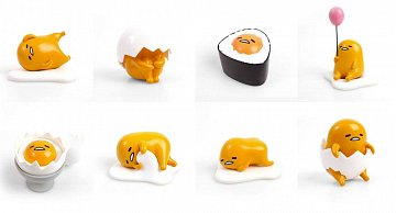 Gudetama Action Vinyls Mini Figures 8 cm Wave 2 Display (12) - 2
