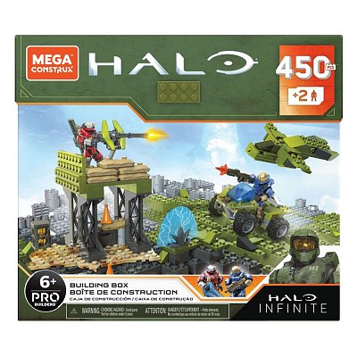 Halo Infinite Mega Construx Pro Builders Construction Set Building Box