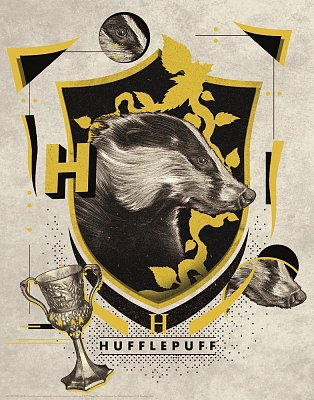 Harry Potter Art Print Hufflepuff 36 x 28 cm