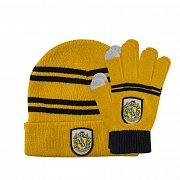 Harry Potter Beanie & Gloves Set for Kids Hufflepuff