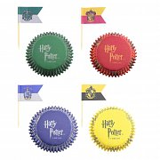 Harry Potter Cupcake Baking Cups and flags Assortment (96) --- DAMAGED PACKAGING
