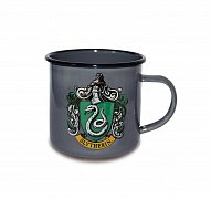 Harry Potter Enamel Mug Slytherin Logo