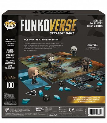 Harry Potter Funkoverse Board Game 4 Character Base Set *German Version* --- DAMAGED PACKAGING