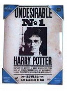 Harry Potter Glass Poster Undesirable No. 1 40 x 30 cm