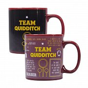 Harry Potter Heat Change Mug Quidditch