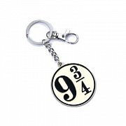 Harry Potter Keychain Platform 9 3/4 (silver plated)