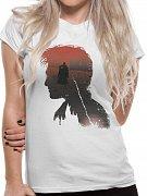 Harry Potter Ladies T-Shirt Battle Silhouette