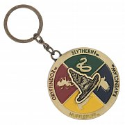 Harry Potter Metal Keychain Rotating Sorting Hat