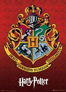 Harry Potter Metallic Poster Pack Hogwarts Crest 50 x 70 cm (5)