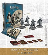 Harry Potter Miniatures 35 mm 4-pack Wizarding Wars Barty Crouch Sr. & Aurors *English*