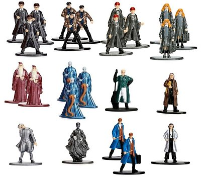 Harry Potter Nano Metalfigs Diecast Mini Figures 4 cm Assortment Wave 1 (24)