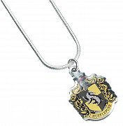 Harry Potter Pendant & Necklace Hufflepuff (silver plated)