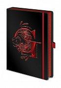 Harry Potter Premium Notebook A5 Gryffindor Foil