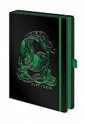 Harry Potter Premium Notebook A5 Slytherin Foil
