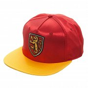 Harry Potter Snap Back Cap Gryffindor Satin