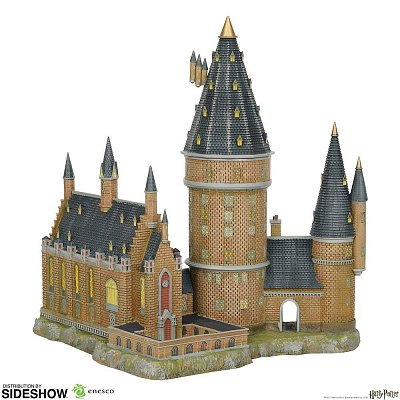 Harry Potter Statue Hogwarts Great Hall & Tower 33 cm --- DAMAGED PACKAGING