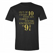 Harry Potter T-Shirt Potter Knowledge