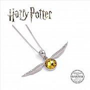 Harry Potter x Swarovksi Necklace & Charm Golden Snitch