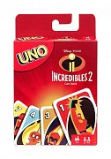 Incredibles 2 UNO Card Game *English Version* --- DAMAGED PACKAGING