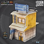 Infinity ColorED Miniature Gaming Model Kit 28 mm Yellow Building