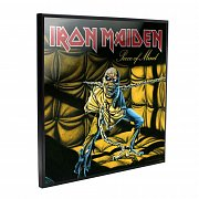Iron Maiden Crystal Clear Picture Piece of Mind, 32 x 32 cm