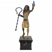 Iron Maiden Legacy of the Beast PVC Statue 1/10 Powerslave Eddie Golden Idol 30 cm --- DAMAGED PACKAGING