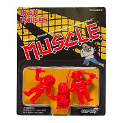 Iron Maiden MUSCLE Figures 3-Pack (Red) 4 cm