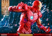 Iron Man 2 MM Action Figure 1/6 Iron Man Mark IV (Holographic Version) 2020 Toy Fair Exclusive 30 cm