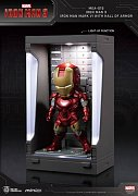 Iron Man 3 Mini Egg Attack Action Figure Hall of Armor Iron Man Mark VI 8 cm
