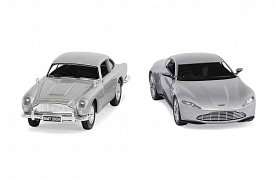 James Bond Diecast Model 2-Pack 1/36 Aston Martin DB10 & DB5