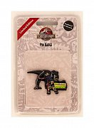Jurassic Park Pin Badge Alan & T-Rex