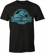 Jurassic Park T-Shirt Blue Logo