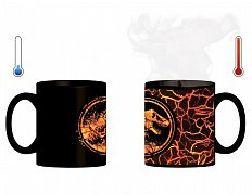 Jurassic World 2 Heat Change Mug T-Rex