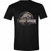 Jurassic World T-Shirt Damaged Logo