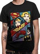 Justice League T-Shirt Heroine Pop Art