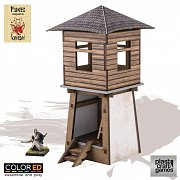 Kensei ColorED Miniature Gaming Model Kit 28 mm Yagura