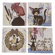 Kiki\'s Delivery Service Coaster 4-Pack Characters