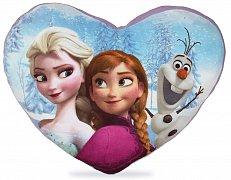 Ledové království Plyšový polštářek Elsa & Anna & Olaf