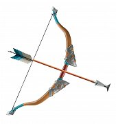 Legend of Zelda Breath of the Wild Roleplay-Replica Traveler\'s Bow and Arrow 65 cm