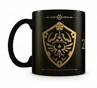 Legend of Zelda Foil Mug Hylian Shield