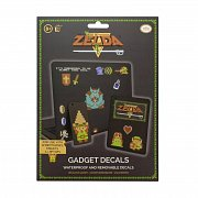 Legend of Zelda Gadget Decals 8 Bit