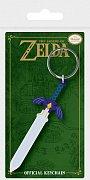 Legend of Zelda Rubber Keychain Master Sword 6 cm