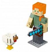 LEGO® Minecraft™ - BigFig Series 1: Alex with Chicken