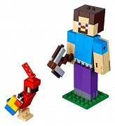 LEGO® Minecraft™ - BigFig Series 1: Steve with parrot