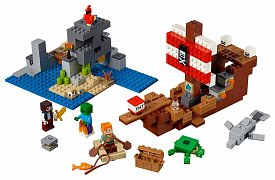 LEGO® Minecraft™ - The Pirate Ship Adventure
