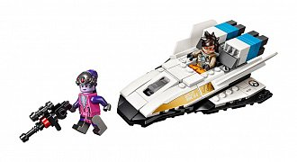 LEGO® Overwatch® - Tracer vs. Widowmaker --- DAMAGED PACKAGING