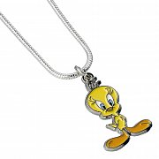 Looney Tunes Pendant & Necklace Tweety (silver plated)