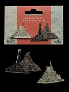 Lord of the Rings Collectors Pins 2-Pack Minas Tirith & Mt. Doom