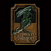 Lord of the Rings Magnet The Green Dragon