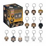 Lord of the Rings Mystery Pocket POP! Vinyl Keychain 5 cm Display (12)